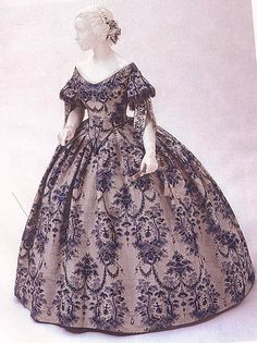 1855-blue-ballgown by , via Flickr