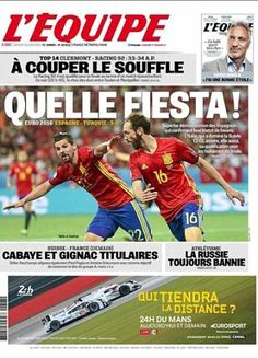Alvaro Morata pinching himself at Euro 2016 starring role: 'I used to watch Spain on television... it is a dream for me' | Daily Mail Online