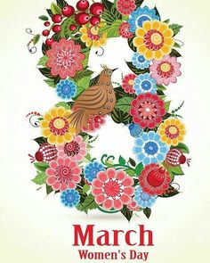 36 Ideas Womens Day 8 March Poster For 2019 Women's Day 8 March, 8th Of March, Happy Woman Day, Happy Women, International Womens Day March 8, Women In France, Women's Day Cards, 8 Mars, Women In History