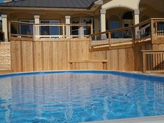 New pool decking idea