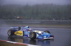 Michael Schumacher | Benetton B195 |Belgian Grand Prix