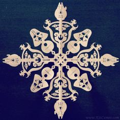 Amazingly Detailed Star Wars and Batman Paper Snowflakes [Pics]