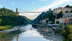 Clifton Suspension Bridge, Bristol, England - visited around 40 years ago when I on a training course at Avonmouth Visit Bristol, Bristol City, Bristol Bridge, Clifton Bristol, Clifton Bridge, Avon, Isambard Kingdom Brunel, Bristol England, Famous Bridges