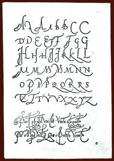 Giovannantonio Tagliente (°1468 Venetië   +ca. 1527) gaf schrijfinstructies in La Vera arte delo Excellete scrivere de diverse varie sorti de litere &z in 1524. Lo presente libro Venetië 1524 Signature Ideas, Typography, Lettering, Tattoo Fonts, Alphabet, Calligraphy, Writing, Tatuajes, Art