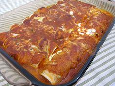 Mexican Manicotti   Plain Chicken