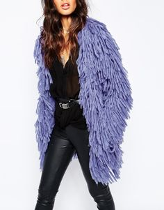 Image 3 of Lovers + Drifters Shaggy Fur Jacket