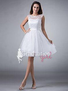 Graduation Knee Length Dresses