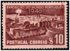 Selos - Afinsa nr 591 - Scott nr 587- Exposição do Mundo Português 1940 - Portugal