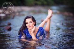 @maddiesnowden - Towne Lake Park - Senior Model Rep - Class of 2016 - Heritage High School - Water - Creek - Texas - Dallas Photographer - Senior Portraits - Blonde - Summer - Ideas for Girls - Cute Poses - Tyler R. Brown Photography