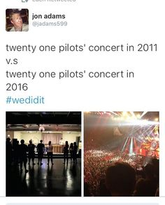 i remember liking them before they were popular and now its so cool seeing how far they have come