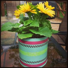 Coffee can turned into a flower pot!- Pinterest Craft Make & Take Event. All women are invited to attend! Friday, May 16, 2014. Supplies Provided & FREE Childcare provided for participants with RSVP. Location: Hope Fellowship, 200 Lake Rd, Lake Jackson, TX 77566 See contact details on our Pinterest page or on Facebook at Pinteresting Women of Hope (Please note all crafts subject to change)