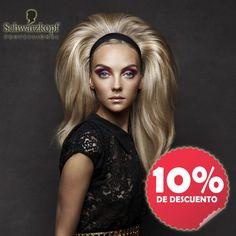 Mes Schwarzkopf Professional. Quieres lucir un cabello cuidado y sano?..., la gama de productos Bonacure de esta prestigiosa firma es tú solución. Consíguelos ahora con un descuento directo del 10% en nuestras tiendas, del 27 de Marzo al 19 de Abril. #sienteschwarzkopf
