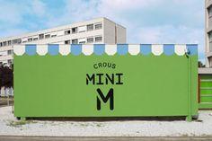 """En la sección #YoAmoDiseño  En la Universidad de Toulouse se construyó una nueva tienda de comestibles, en un intento por ofrecer comida a precios accesibles dentro de las instalaciones de la universidad. Mini M (su nombre hace referencia a un """"mercado pequeño"""") es una iniciativa de CROUS, una organización que busca promover valores de mercado justo y equitativos entre la comunidad estudiant  Si quieres saber mas de Mini M dale click http://foliodigital.net/matali-crasset-4"""