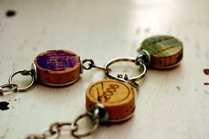 wine cork jewelry by uncorked