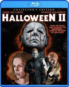Halloween II (1981) Blu Ray cover
