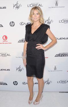 Heidi Klum Little Black Dress - Dresses & Skirts Lookbook - StyleBistro