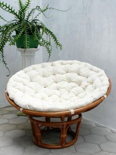 Papasan-- looks ine : chaise papasan - Sectionals, Sofas & Couches