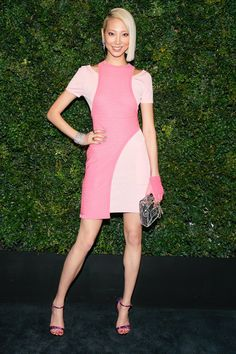 The little pink dress feels right on time right now.