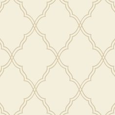 Wallpaper with a Moroccan trellis motif. Made in the USA.     Product: Wallpaper   Construction Material: Unpasted ...