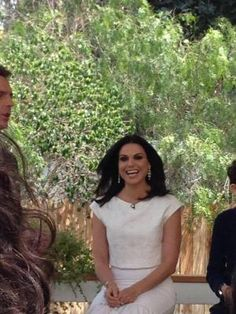 Lana Parrilla at Home&Family Q&A