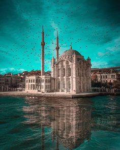 İstanbul Ortaköy Cami / Ortaköy Mosque Photo by . Visit Istanbul, Istanbul City, Istanbul Travel, Beautiful Mosques, Beautiful Places, Places Around The World, Around The Worlds, Places To Travel, Places To Go