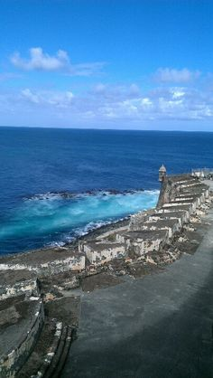 San Juan. ..beautiful view from El Morro Fort