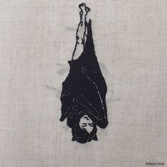 """socialpsychopathblr: """" Hand embroidery by Adipocere """""""