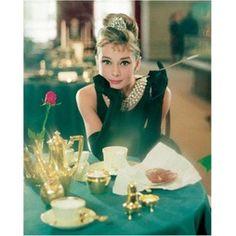Audrey Hepburn - Breakfast at Tiffanys color