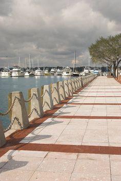 Waterfront Walkway ~ Beaufort, South Carolina
