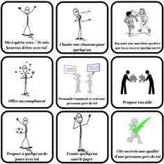 6 Jeux pour développer l'empathie et réduire la violence à l'école Papa Positive, Positive Attitude, Education Positive, Kids Education, Dharamsala, Cycle 3, Classroom Projects, Positive Reinforcement, Growth Mindset