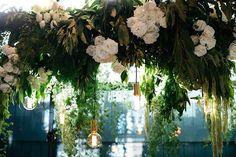 Mable & Elsi Floral Design / Flower Installation / Hanging Arrangement / Sydney / Wedding Style Inspiration / LANE