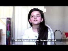 Amazing (Angelina Jordan) Sings What A Wonderful World In Interview Eng Sub