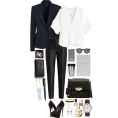 Workaholic Suit by imyeni on Polyvore featuring Chloé, Theory, Karl Lagerfeld, Giuseppe Zanotti, Balenciaga, Kate Spade, Givenchy, Phyllis + Rosie, Jennifer Zeuner and Topshop