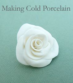 Making cold porcelain | All of me: Craft me Happy!: Making cold porcelain
