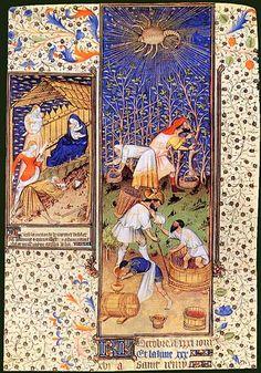 Medieval baskets