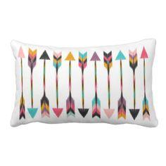 Bohemian Arrows Throw Pillows