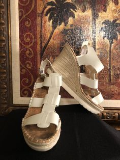 881ccff1615 Sugar Womens White Sandals Size 6.5 (376892)  fashion  clothing  shoes