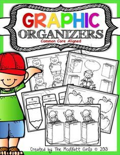 43 ADORABLE Graphic Organizers that help children become independent thinkers!