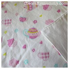 Tutorial: Baby Flannel Wrap