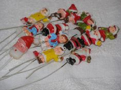 Vintage 1950s LOT Ornament and Various Xmas Decorations by parkie2, $14.95