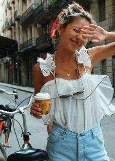 #AjeFashion #AjeTheLabel #AjeInsider #Europe #Spain #Barcelona #YanYanChan #Influencer #Style #Summer #Vacation