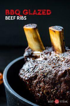 Heerlijke sappige runderspareribs waren nog nooit zo lekker! Beef Ribs, Steak, Bbq, Food, Barbecue, Beef Short Ribs, Barbacoa, Meal, Eten