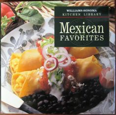 Mexican Favorites – Chicken Enchiladas with Tomato Chipotle Sauce Mexican Cookbook, Mexican Cooking, Mexican Salsa, Chipotle Sauce, Shredded Pork, Vintage Cookbooks, Stuffed Whole Chicken, Chicken Enchiladas, Williams Sonoma