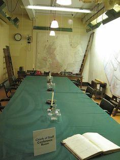 Cabinet War Rooms, London underground
