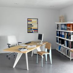 Prouve EM Table and Standard Chairs