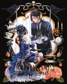 Kuroshitsuji Blu-ray Box set ~Box Illustration #1