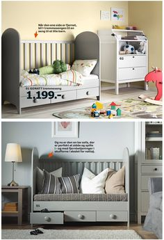 IKEA Gonatt kids bed - turn into toddler bed or low couch