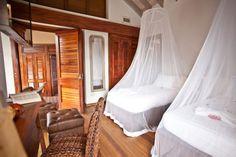 Bedroom in Villa Susanna, Caribbean www.nomadearchitettura.com