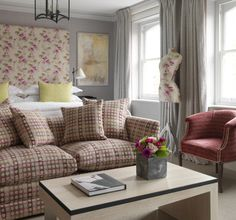 Firmdale Hotels - Knightsbridge Hotel. Warm and inviting.  Love it!!