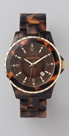 Michael Kors Tortoiseshell Watch....ummmm pretty much anything tortoiseshell.
